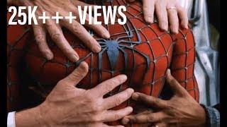 Ya Ali Madad wali ll spidermam movie clip ll train stop by #spiderman ll