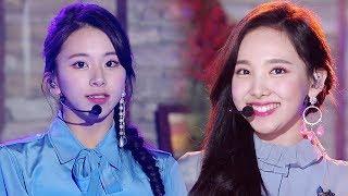TWICE(트와이스), 남심 녹이는 미소 'What is Love?' @2018 SBS 가요대전