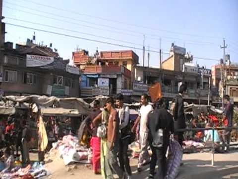 Paragliding in Nepal 2010-03-08 – Katmandu, The CITY