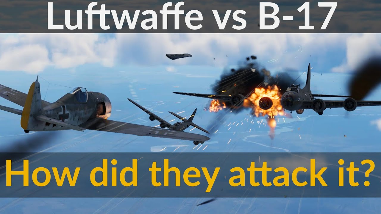 How the Luftwaffe Wanted to Defeat the B-17