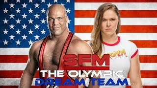 "WWE Mashup: Kurt Angle and Ronda Rousey - ""Medal Reputation"""