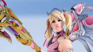 Pink Mercy has pretty new sound effects [Overwatch]