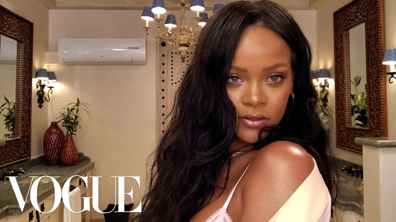 Rihanna's Epic 10-Minute Guide to going out Makeup