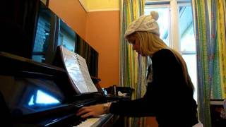 Lara plays Secret of the Forest from Chrono Trigger (Zohar) on piano