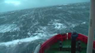 Storm Bawbag (ERRV) Beating into Heavy Weather
