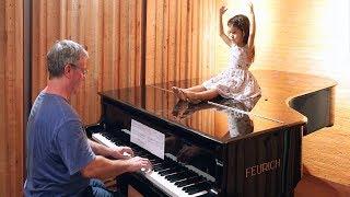 "Marcello/Bach ""Adagio"" (excerpt) on Piano for Emilie."