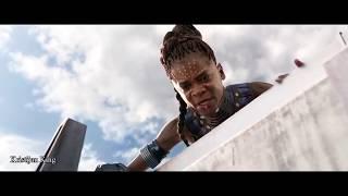 Skillet - The Resistance / Black Panther Vs Killmonger Final Battle Fight Scene HD