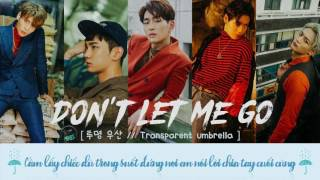 [ VIETSUB ] SHINee - DON'T LET ME GO ( 투명 우산 // Transparent umbrella ) { 5th Album 1of1 }