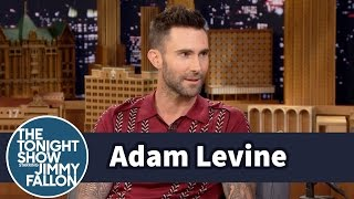 Adam Levine Never Stops Touring or Hating on Blake Shelton