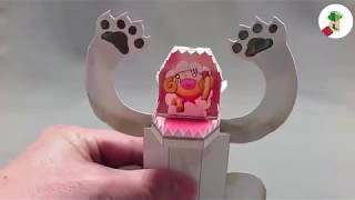 Kamikara - Mechanical Paper Animal Toys from Japan