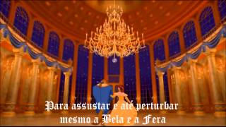 Beauty and the Beast - Theme Song (1994 Portuguese version) CD by Guida *HD*