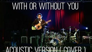 With or Wiyhout You - Fingerstyle Percussive and solo Version