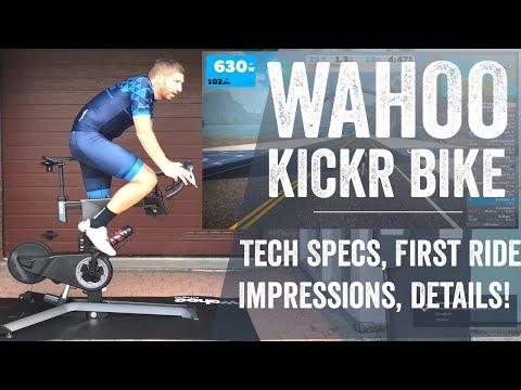 Wahoo KICKR Bike: Hands-on Details