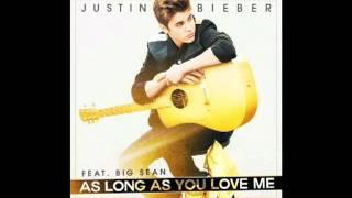 Justin Bieber   As Long As You Love Me Audio ft  Big Sean   YouTube