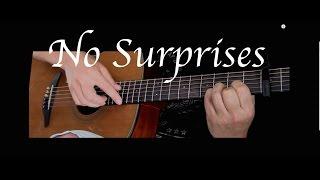 Radiohead - No Surprises - Fingerstyle Guitar