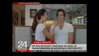 Solenn Heussaff, rumesbak ng make-up transformation sa mister na si Nico Bolzico