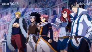 Fairy Tail Opening 13 FULL ~ Español Latino Fandub ~ Breakthrough ~ Letra ~ Lyrics ~ (Doblecero)