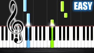 Scarborough Fair - EASY Piano Tutorial by PlutaX