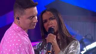 J Balvin y Anitta en Brasil cantando Ginza 2017
