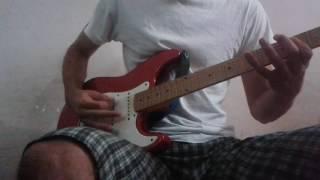 U.S.  Bombs - Roll Around (guitar cover)