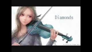 Nightcore - Diamonds (Violin Cover)