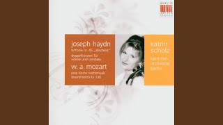 "Symphony No. 45 in F-Sharp Minor, Hob. I:45 ""Farewell Symphony"": IV. Finale. Presto-Adagio"
