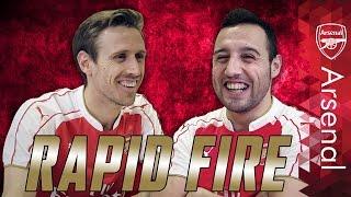 Santi Cazorla & Nacho Monreal | Rapid fire