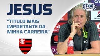 FLAMENGO BICAMPEÃO DA LIBERTADORES! Veja as entrevistas pós-jogo ao vivo!
