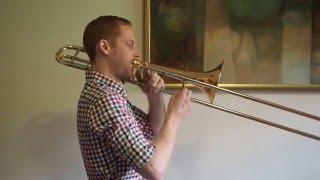 F Major Scale  - Trombone