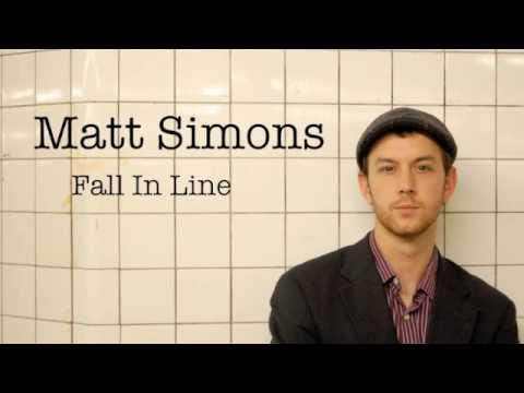 Fall In Line de Matt Simons Letra y Video
