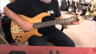 The Ohio Players - Love Rollercoaster - Bass Cover