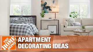 apartment decorating ideas by The Home Depot