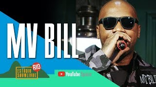 """Vida longa"" - MV Bill no Estúdio Showlivre no YouTube Space Rio 2017"