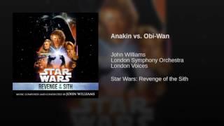 Anakin vs. Obi-Wan