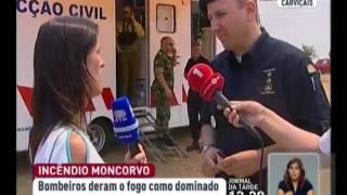 Bombeiros continuam no terreno em Trás-os-Montes