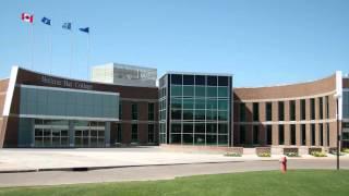 Bomb at Medicine Hat College / Mark Keller talks from inside.