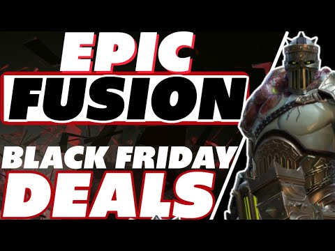 Epic Fusion, Black Friday deals, it's Thanksgiving time Raid Shadow Legends