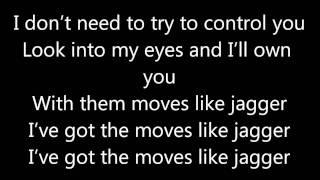 Moves like Jagger - Maroon 5 ft. Christina Aguilera | Lyrics