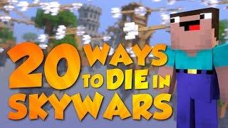 20 Ways to Die in Skywars (Minecraft Animation) [Hypixel]