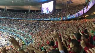 Momentos Mágicos na Final do Euro 2016 - A Força especial dos adeptos portugueses
