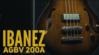 Ibanez AGBV 200A - Bassline Gear Review