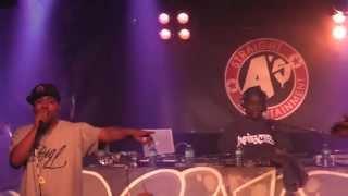 Showbiz & AG - Next Level (DJ Premier remix) Live!