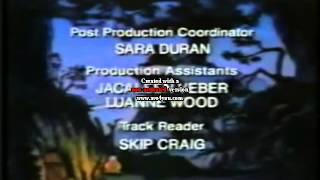 New Adventures of Winnie The Pooh Credits