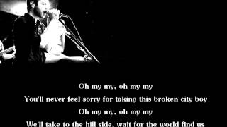 Act As If - Oh My My [Lyrics]