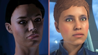 Mass Effect 2007 vs. Mass Effect: Andromeda 2017