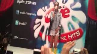 """INNA """"Caliente"""" Oye Live Mexico"""