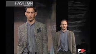 GIORGIO ARMANI Fall Winter 2006 2007 Menswear Milan - Fashion Channel