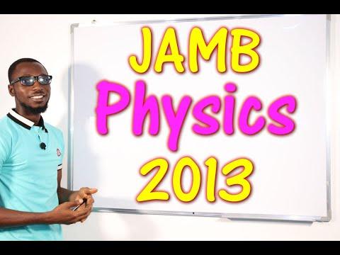 JAMB CBT Physics 2013 Past Questions 1 - 15