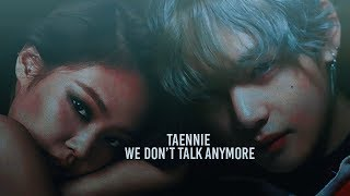 [FMV] TAENNIE x JIMIN - We Don't Talk Anymore