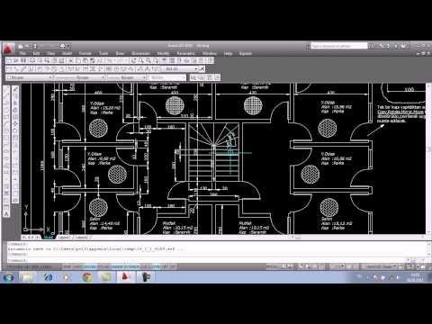 AutoCAD Eğitimi ileri-2 ( Mimari,Kat Planı ) / Murat GÜNDOĞAR /